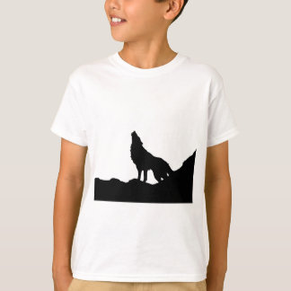 Lone Wolf Standing on a Hill T-Shirt