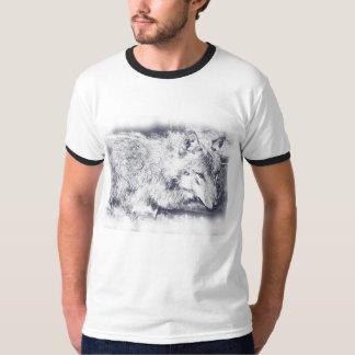 'Lone Wolf' t-shirt by Samantha Eliza