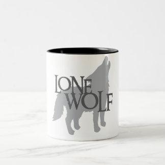 LONE WOLF Two-Tone COFFEE MUG