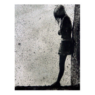 Loneliness Postcard