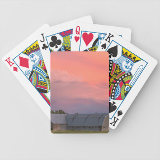 Lonely Barn Bicycle Playing Cards