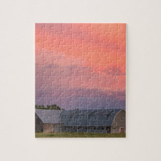 Lonely Barn Jigsaw Puzzle