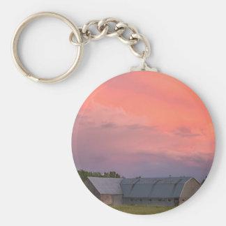 Lonely Barn Keychain