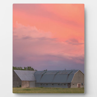 Lonely Barn Plaque