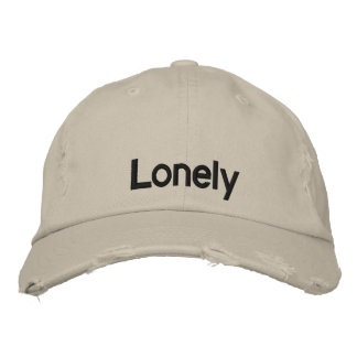 Lonely (baseball cap) embroidered hats