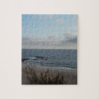 lonely beach jigsaw puzzle