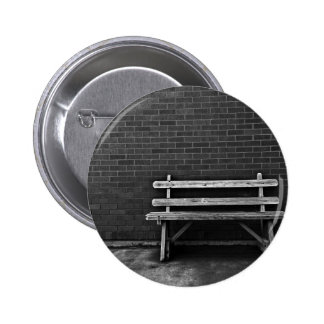 Lonely Bench 2 Inch Round Button