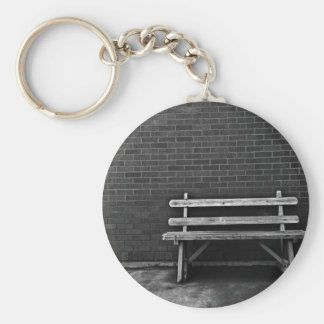 Lonely Bench Keychain