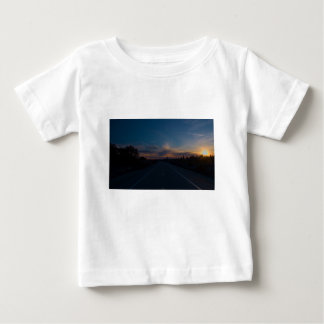 Lonely Bike Path Baby T-Shirt