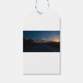 Lonely Bike Path Gift Tags