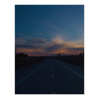 Lonely Bike Path Letterhead