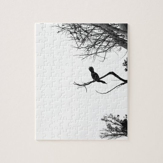 Lonely Bird Jigsaw Puzzle