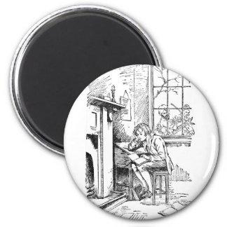 Lonely Boy 2 Inch Round Magnet