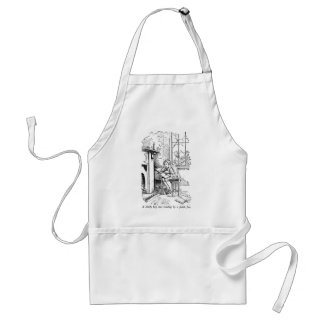 Lonely Boy (with text) Aprons