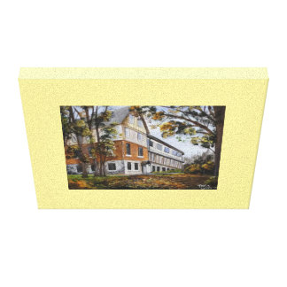 Lonely Building Canvas Print