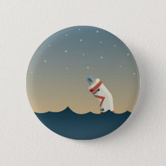 Lonely Buoy 2 Inch Round Button