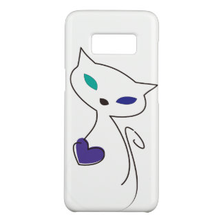 lonely cat Case-Mate samsung galaxy s8 case