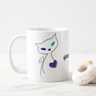 lonely cats LGBT Coffee Mug