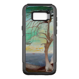 Lonely Cedar Tree Landscape Painting OtterBox Commuter Samsung Galaxy S8+ Case