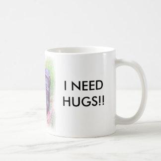 Lonely Chimp - I NEED Coffee Mug