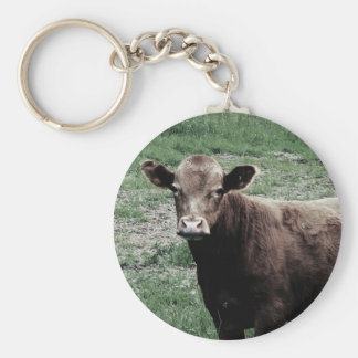 Lonely Cow Keychain