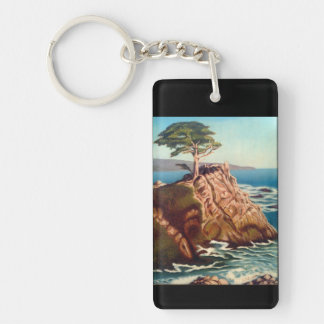 Lonely Cypruss Keychain