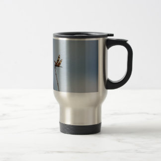 lonely dragonfly travel mug