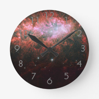 Lonely Galaxy Round Clock