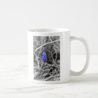 Lonely Grape Hyacinth Select Color Coffee Mug