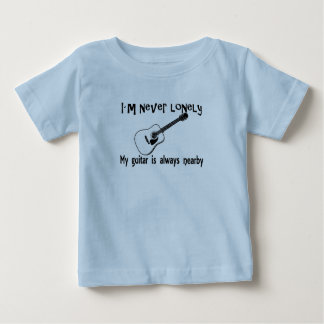 Lonely Guitar Baby T-Shirt
