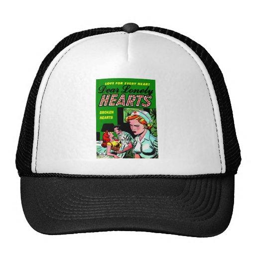 Lonely Heart Nurse - Love Romance Art Hat