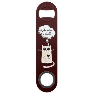 Lonely Hearts Cat Bar Key