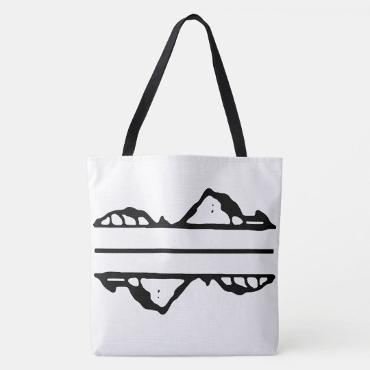 Lonely Island Black Tote Bag