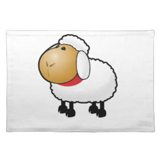 lonely lamb place mat