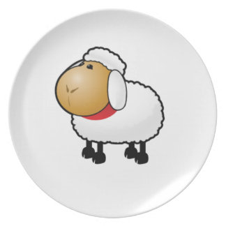 lonely lamb plate