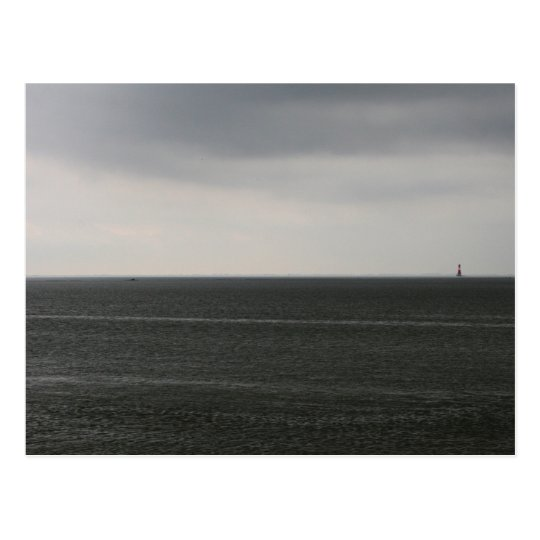 Lonely Lighthouse Postcard
