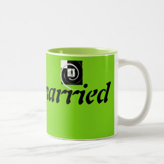 lonely married Two-Tone coffee mug