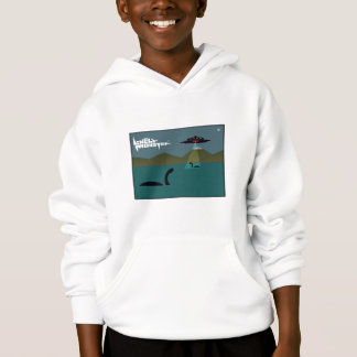 Lonely Monster and UFO Hoodie