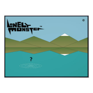 Lonely Monster? Photo Print