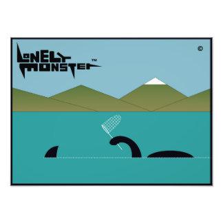 Lonely Monster Sharkhunter Photo Print
