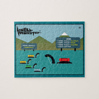 Lonely Monsters at Hiding/Diving School Jigsaw Puzzle