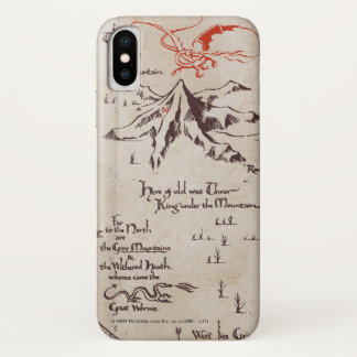 Lonely Mountain iPhone X Case