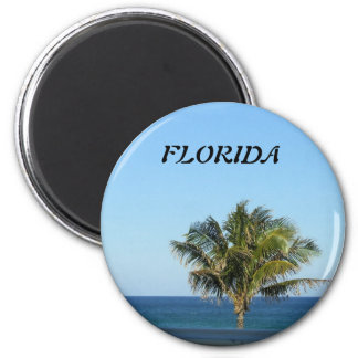 LONELY PALM TREE MAGNET