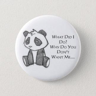 Lonely Panda Pin