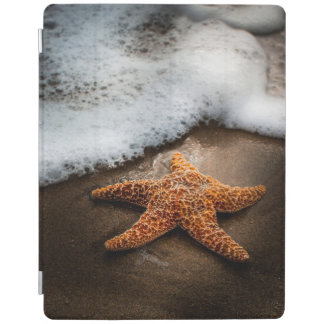 Lonely Starfish On The Beach iPad Cover