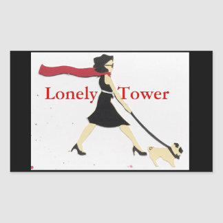 Lonely Tower Sticker
