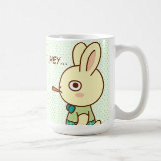 Loner Rabbit Classic White Coffee Mug