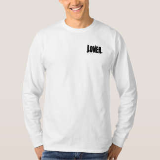Lonersneverlose Longsleeve White T-Shirt