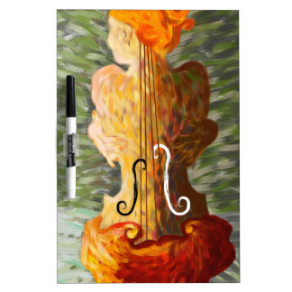 Lonessia V1 - violin beauty Dry Erase Board