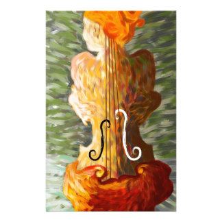 Lonessia V1 - violin beauty Stationery